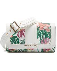 Valentino By Mario Valentino Valentino Atlantic Crosbody Tas White - Wit