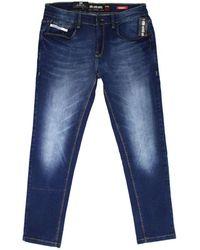 Seventy Jeans Rise Skinny Fit - Blauw