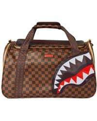 Sprayground Sharks In Paris Duffle Bag - Bruin