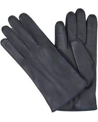 Santa Eulalia Gloves With Knitted Lining - Blauw