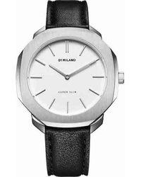 D1 Milano Watch - D1-ssll03 - Zwart