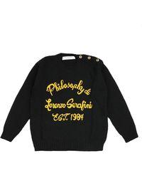 Philosophy Di Lorenzo Serafini Sweater - Zwart