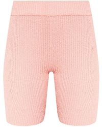 Rag & Bone Rib-knit Shorts - Roze