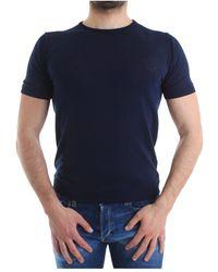 Alessandro Dell'acqua Ad0483/m0120 T Shirt - Blauw