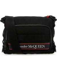 Alexander McQueen Crossbody Tas - Zwart