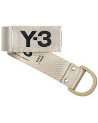 Y-3 Classic Logo Belt Khaki - Naturel