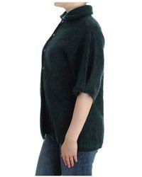 Roberto Cavalli Mohair knitted cardigan - Vert