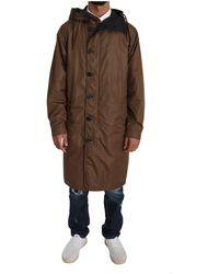 Dolce & Gabbana Hooded Reversible RainKåpe Negro