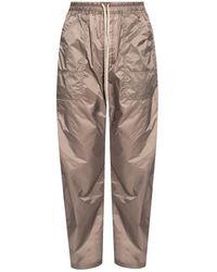 Rick Owens Sweatpants With Pockets - Grijs