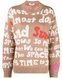 MSGM Sweater - Neutro