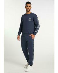 carlo colucci Sweater C3650 Azul