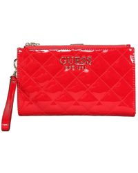 Guess Melise Zip Organizer - Rood