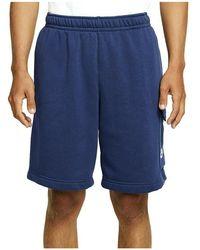 Nike Pantaln Azul Hombre Sportswear Cz9956 - Blauw