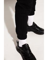 Givenchy Pantalones deportivos con logo Negro