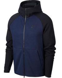 Nike Tech Fleece Sweater - Blauw
