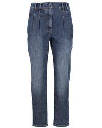 Brunello Cucinelli Jeans - Blauw