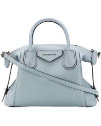 Givenchy Kleine 'antigona' Zachte Tas - Blauw