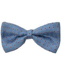 Etro Silk Bow Tie - Blauw
