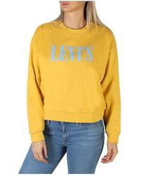 Levi's Sweatshirt 85283_Graphic-Diana Levi's - Giallo