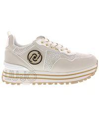 Liu Jo Sneakers Maxi Wonder - Naturel