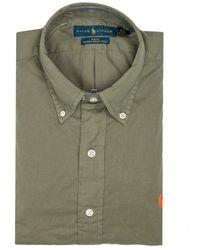 Polo Ralph Lauren Twill Slim Fit Shirt - Groen