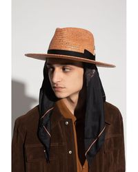 Nick Fouquet Mystic hat with shawl Marrón