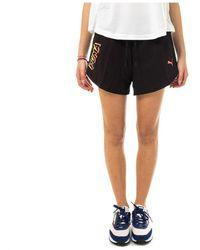 Max Mara Studio Shorts 585957.51 - Bleu