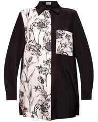 Ferragamo Shirt With Pocket - Zwart