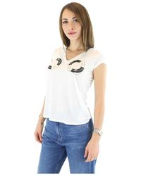 Elisabetta Franchi T-shirt - Wit
