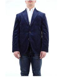Brunello Cucinelli Blazer Mn4107bnd - Blauw