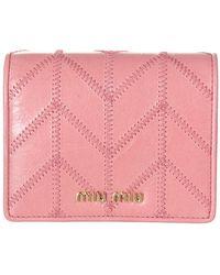 Miu Miu Wallet - Roze