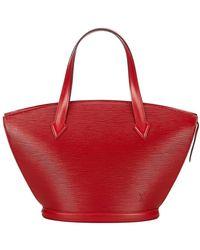 Louis Vuitton Epi Saint Jacques PM Short Strap Leather - Rot