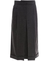 Vivetta Skirt C0413033 - Grijs