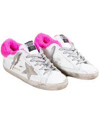 Golden Goose Deluxe Brand Superstar Sneakers - Roze