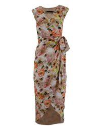 Patrizia Pepe Long Dress - Rosa