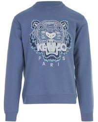 KENZO Tiger Sweatshirt - Blauw