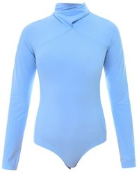 MM6 by Maison Martin Margiela Topwear S52Na0038S20518 - Blau