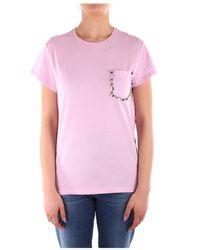 iBlues Sassari Short Sleeve T-shirt - Roze