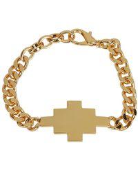 Marcelo Burlon Bracelet cross - Mettallic