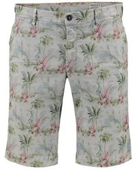 Mason's Bermuda Estampada shorts - Grün