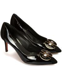 Baldinini Leather Shoes - Zwart