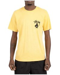 Stussy T-shirt - Geel