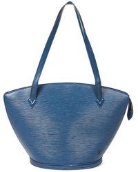Louis Vuitton St-Jacques Shopping GM - Blau