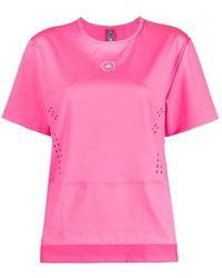 adidas By Stella McCartney T-shirt - Roze