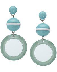 Emporio Armani Earrings - Blauw