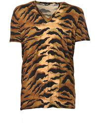 DSquared² T-shirt Fantasia - Oranje