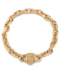 Emanuele Bicocchi Chain bracelet - Giallo