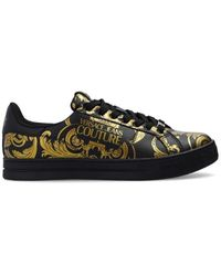 Versace Jeans Couture Sneakers With Logo - Zwart