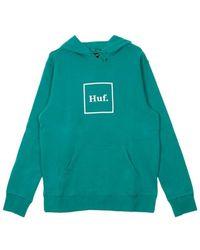 Huf Box Logo Hoodie - Groen