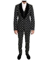 Dolce & Gabbana Slim Fit Suit - Grijs